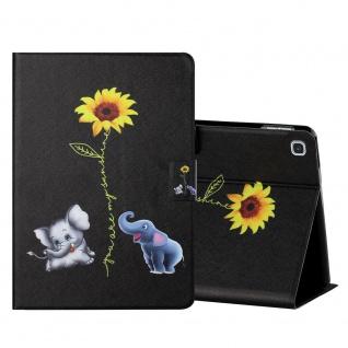 Für Samsung Galaxy Tab S6 Lite Motiv 6 Tablet Tasche Kunst Leder Hülle Etuis Neu