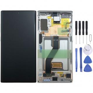 Samsung Display LCD Kompletteinheit für Galaxy Note 10+ N975F GH82-20838B Weiß