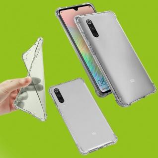 Für Samsung Galaxy Note 10 N970F Silikon Transparent Handy Tasche Etuis Cover