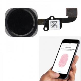 Home Button Finger Abdruck Touch ID Sensor für Apple iPhone 6 Flex Kabel Schwarz