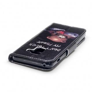 Tasche Wallet Premium Motiv 25 für Samsung Galaxy A8 2018 A530F Hülle Case Etui - Vorschau 3