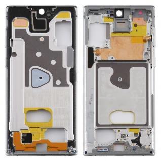 Mittelrahmen für Samsung Galaxy Note 10 Silber Middle Frame Rahmen Gehäuse