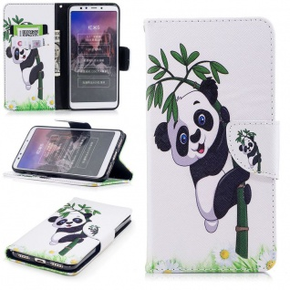 Für Huawei P20 Pro Kunstleder Tasche Book Motiv 34 Schutz Hülle Case Cover Etui