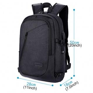 Multi Funktions Rucksack für Smartphone / Tablet / Laptop Reisen Hülle Tasche - Vorschau 4