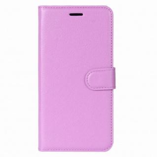 Tasche Wallet Premium Lila für Sony Xperia XA2 Hülle Case Cover Schutz Etui Neu - Vorschau 2