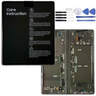Samsung LCD Display für Galaxy Z Fold2 + Frame + Hinge 5G GH82-24296C Black Red