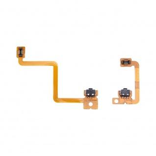 Für Nintendo 3DS Linke + rechte Tastsenschalter mit flexiblem Flex Kabel Ersatz