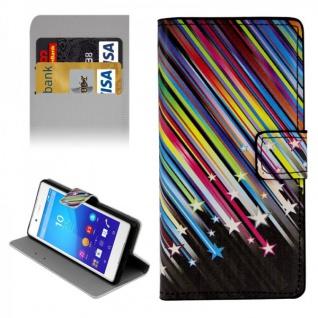 Schutzhülle Muster 5 für Sony Xperia Z3 Plus E6553 Bookcover Tasche Hülle Case