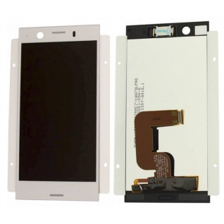 Sony Display LCD Komplett für Xperia XZ1 Compact G8441 Reparatur Silber Ersatz
