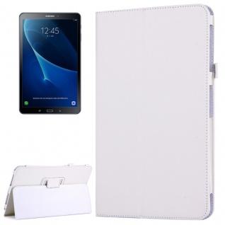 Schutzhülle Weiß Tasche für Samsung Galaxy Tab A 10.1 T580 / T585 Hülle Case Neu