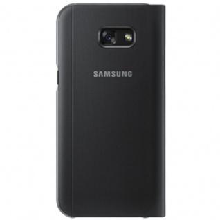 Samsung S View Wallet Tasche Kunstleder EF-CA520 f. Galaxy A5 A520F 2017 Schwarz - Vorschau 4