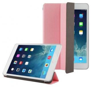 Smartcover Rosa Tasche für Apple iPad Mini und Retina Hülle + Folie Touchpen Neu