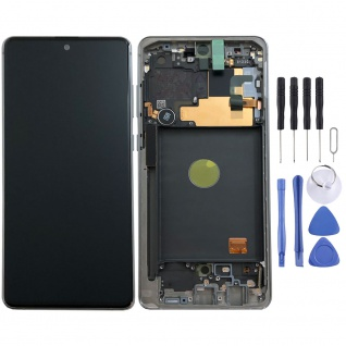 Samsung Display LCD Komplett für Galaxy Note 10 Lite N770F GH82-22055B Aura Glow