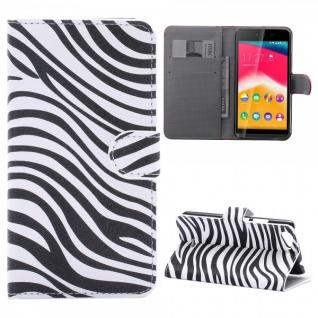 Schutzhülle Muster 7 für Wiko Rainbow Jam Bookcover Tasche Hülle Wallet Case Neu