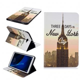 Schutzhülle Motiv 91 Tasche für Samsung Galaxy Tab A 10.1 T580 T585 Hülle Cover