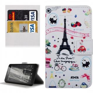 Schutzhülle Muster 24 für Microsoft Lumia 650 Bookcover Tasche Case Hülle Wallet