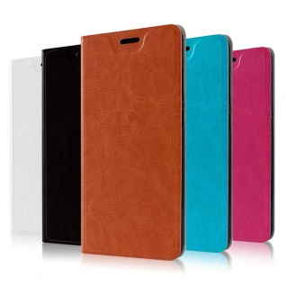 Flip / Smart Cover Schwarz für Samsung Galaxy S9 G960F Schutz Etui Tasche Hülle - Vorschau 2