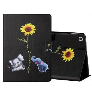 Für Samsung Galaxy Tab A 10.1 2019 Motiv 6 Tablet Tasche Kunst Leder Hülle Etuis