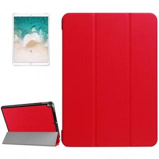 Smartcover Rot Cover Tasche für Apple iPad Pro 10.5 2017 Hülle Etui Case Schutz