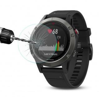 2.15D 0, 2 mm H9 Hart Glas Schock Folie für Garmin Fenix 5 Smartwatch Schutz Glas