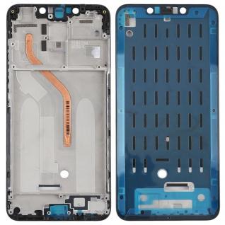 Gehäuse Rahmen Mittelrahmen Deckel für Xiaomi Pocophone F1 Schwarz Ersatzteil