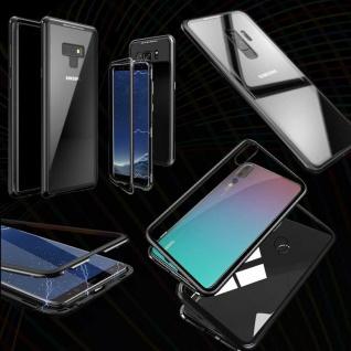 Magnet / Glas Case Bumper Cover Tasche Case Hülle Zubehör für Smartphones Neu - Vorschau 4