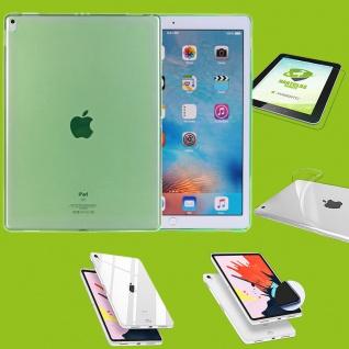 Für Apple iPad Pro 12.9 Zoll 2018 Grün Hülle Tasche Cover + H9 Hart Glas Case