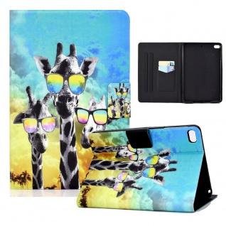 Für Apple iPad Mini 2 / 3 / 4 / 5 Motiv 2 Tablet Tasche Kunst Leder Hülle Etuis