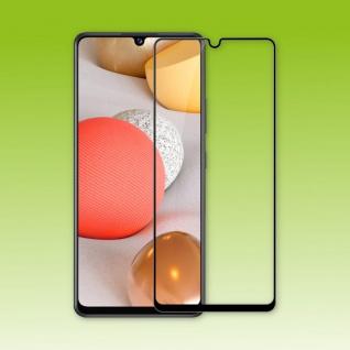 Für Samsung Galaxy A42 5G 3D Display Full H9 Hart Glas Schwarz Folie Panzer Neu