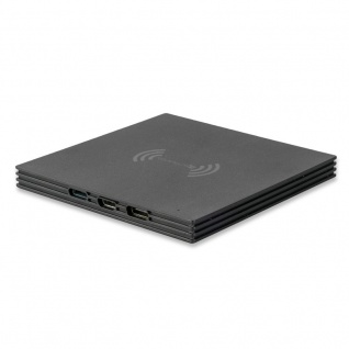 Universal Induktive Ladestation VoltBeam 5W Wireless Charger Ladegerät schwarz - Vorschau 3