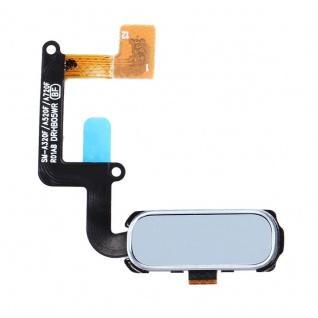 Für Samsung Galaxy A3 A320F A5 A520F A7 A720 Home Button Fingerabdruck Flex Blau