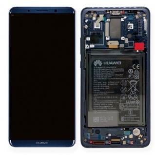 Huawei Display LCD Einheit Rahmen für Mate 10 Pro Service Pack 02351RVH Blau