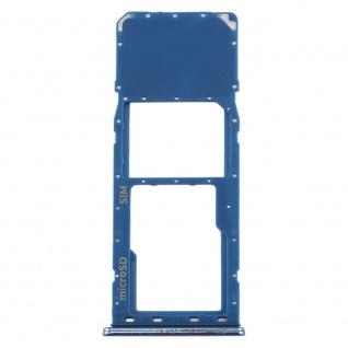 Sim Karten Halter für Samsung Galaxy A20 A30 A50 Blau Card Tray Micro SD Ersatz