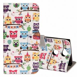 Tasche Wallet Book Cover Motiv 23 für Sony Xperia XA2 Hülle Case Etui Schutz Neu