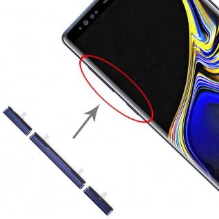Für Samsung Galaxy Note 9 Sidekeys Seitentasten Blau Ersatz Zubehör Reparatur