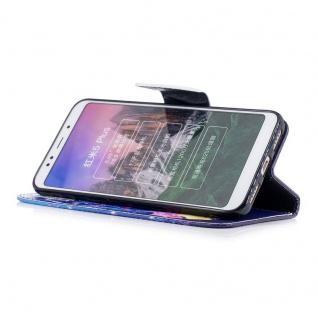 Für Huawei P20 Kunstleder Tasche Book Motiv 37 Schutz Hülle Case Cover Etui Neu - Vorschau 3