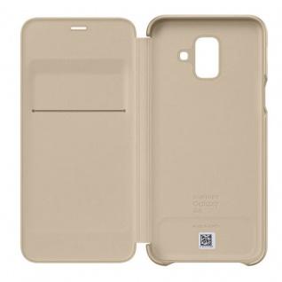 Samsung Wallet Cover Hülle EF-WA600CFEGWW Galaxy A6 2018 A600F Schutzhülle Gold - Vorschau 4