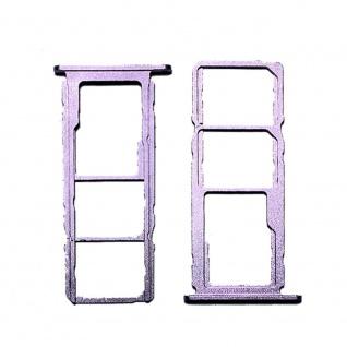 Dual SIM Micro SD Karten Halter für Nokia 5.4 Zubehör Ersatzteil Reparatur Lila