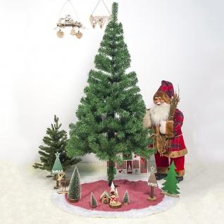 Rote Weiße 100 cm Weihnachtsbaum Unterlage Glitzer Christbaum Decke Dekoration
