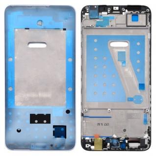 Gehäuse Rahmen Mittelrahmen Deckel für Huawei P Smart Weiß Reparatur Ersatz Neu
