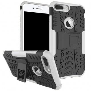 New Hybrid Case 2teilig Outdoor Weiß für Apple iPhone 8 und 7 Plus 5.5 Tasche