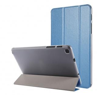 Für Samsung Galaxy Tab A7 Lite 2021 Wake UP Smart Cover Tablet Tasche Blau Etuis