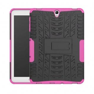 Hybrid Outdoor Schutzhülle Pink für Samsung Galaxy Tab S3 9.7 T820 T825 Tasche