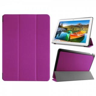 Smartcover Lila für ASUS ZenPad 10 Z300C CL CG Hülle Case Tasche Etui Schutz Neu