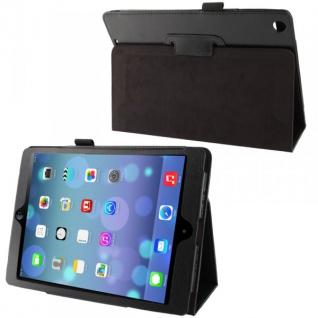 Schutzhülle Kunstleder Tasche Schwarz Case Etui für Apple iPad Air Case Hülle