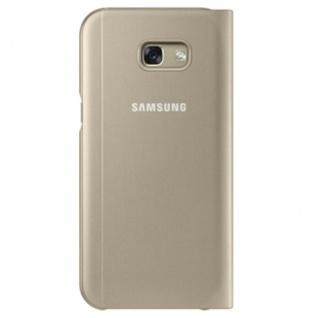 Samsung S View Wallet Tasche Kunstleder EF-CA520 für Galaxy A5 A520F 2017 Gold - Vorschau 2