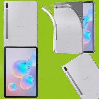 Für Samsung Galaxy Tab S7 Plus Transparent Tablet Tasche Hülle TPU Silikon dünn
