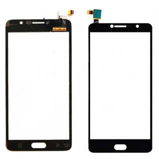 Reparatur Displayglas Touch Screen für Alcatel Pop 4S LCD Schwarz Ersatz Flex