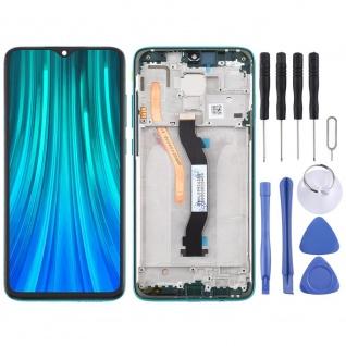 Für Xiaomi Redmi Note 8 Pro Display LCD Einheit mit Rahmen Touch Screen Grün Neu