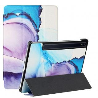 Für Samsung Galaxy Tab S7 FE / Tab S7 Plus 3folt Wake UP Smart Cover Motiv 5 Neu